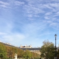 Counselling images: Paris sky